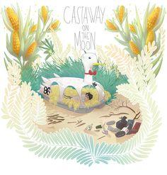 Castaway on the Moon - fanart on Behance