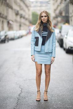 Street styles de la Fashion Week haute couture, Paris.