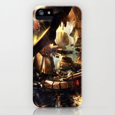 Another CO X PureHAY artist series -- Escape!!! iPhone & iPod Case by Another-CO - $35.00