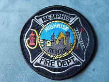 BRAND NEW!!  MEMPHIS, TENNESSEE FIRE DEPARTMENT HIGH RISE RESCUE PATCH Tennessee Fire, Memphis Tennessee, Fire Dept, Fire Department, Memphis Fire, Fire Fighters, Firemen, Crests, Pride
