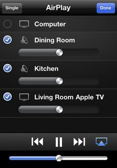 Turn your iPhone into a remote for AppleTv and iTunes. Pretty awesome!