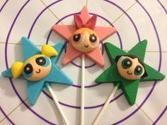 Powerpuff Girls Chocolate Lollipops by TaztyTreatz on Etsy