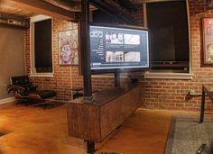 Rotating Media Center | A custom media center was commission… | Flickr