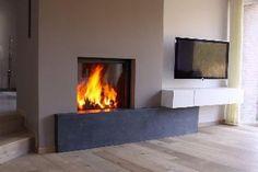 Project van Vuur Openhaarden te Mechelen - Stûv2185 SF Decor, Home, Deco, Room, Interior, Living Room, Wood Burning Stove, Fireplace, Room Divider