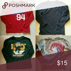 ⚽Lot of Boys long sleeve shirts Gap,  Old Navy,  Land's End,  and Childrens Place size 7-8 long sleeve shirts.   Very good condition.  Each listed separately in my closet.  Great for back to school! Gap Old Navy  Land's End  Children's Place  Shirts & Tops Tees - Long Sleeve