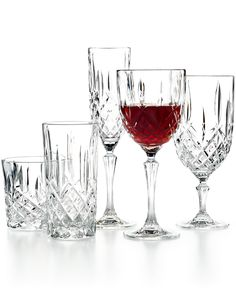 Marquis By Waterford Markham Drinkware Collection - Shop All Glassware & Stemware - Dining & Entertaining - Macy's