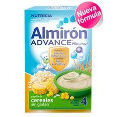 ALMIRON Advance Papilla Cereales sin Gluten 600g.