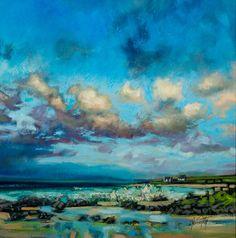Scott Naismith landscape annanArt Abstract Landscape, Landscape Paintings, Sky Art, Paintings I Love, Fine Art, Scott Naismith, Oeuvre D'art, Art Techniques, Painting Inspiration