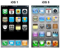Spot the difference (IOS 1 - IOS 5)