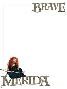 Journal Card - Brave - Merida - sitting - 3x4 photo: A little 3x4inch journal card to brighten up your holiday scrapbook! Click on options - download to get the full size image (900x1200px). Logo/clipart belongs to Disney. ~~~~~~~~~~~~~~~~~~~~~~~~~~~~~~~~~ This card is **Personal use only - NOT for sale/resale/profit** If you wish to use this on a blog/webpage please include credits AND link back to here. Thanks and enjoy!! This photo was uploaded by pixiesprite
