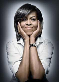 Mrs. Obama.  Brave, Real, Intelligent,    and we'll see what else she brings to the world as time goes on