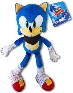 Sonic Boom TOMY 8 Inch Plush Sonic Sonic The Hedgehog