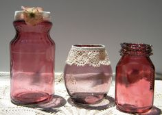 homework: a creative blog: Etceteras: cranberry glass