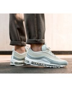 new arrival 75ddd 30002 Nike Air Max 97 Premium Mens Light Pumice Summit White Trainers Black  Trainer Shoes, Gold