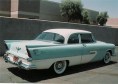 Tacking on Tail Fins Plymouth Savoy, Plymouth Cars, Plymouth Belvedere, 1950s Car, Googie, My Ride, Mopar, Vintage Cars, Dream Cars