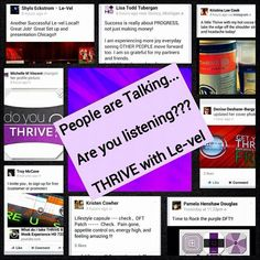 See what people are saying about THRIVE www.mylvexperience.com Join for FREE