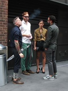 wish i was the asian girl hanging with nick wooster & the cool boys
