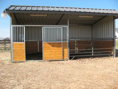 Horse Stable-if you have a smaller space this would work well.