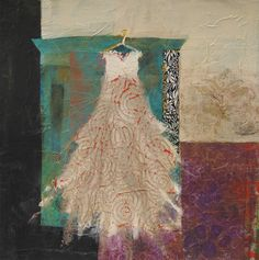 the wardrobe ~ mixed media ~ by judy thorley