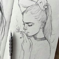 Security Check Required - [New] The 10 Best Drawing Ideas Today (with Pictures) - - ? Dark Art Drawings, Pencil Art Drawings, Art Drawings Sketches, Cool Drawings, Sketch Art, Arte Sketchbook, Painting & Drawing, Drawing Drawing, Drawing Ideas