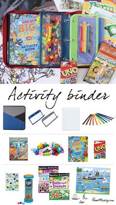 activities for kids on the plane Keep kids busy on the plane with an activity binder. Here's what I put in mine.Keep kids busy on the plane with an activity binder. Here's what I put in mine. Toddler Travel Activities, Road Trip Activities, Activities For Kids, Travel Toys For Toddlers, Road Trip With Kids, Travel With Kids, Family Road Trips, Family Vacations, Family Travel