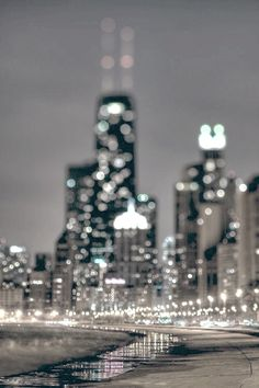 NY City lights