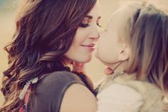 mom & daughter.