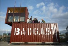 Artists in Residence Container Studio in The Netherlands