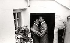 Gilbert and George by Cecil Beaton