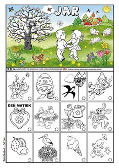 Spring Activities, Activities For Kids, Crafts For Kids To Make, How To Make, School Clubs, Easter Crafts, Kids And Parenting, Calendar, Struktura