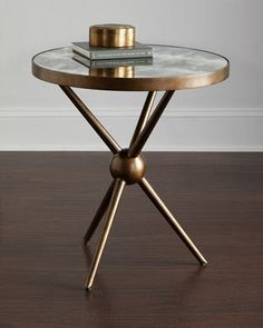 FamRm Nook: Charly Mirrored-Top Side Table (might be too modern, but could be interesting paired with a traditional chair) Dump Furniture, Entry Furniture, Mirrored Furniture, Modern Furniture, Living Room Furniture, Furniture Design, Glass Furniture, Furniture Nyc, Furniture Dolly