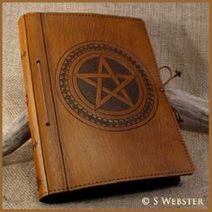 Leather Book of Shadows   Details about A5 LEATHER PENTAGRAM / PENTACLE JOURNAL BOOK OF SHADOWS