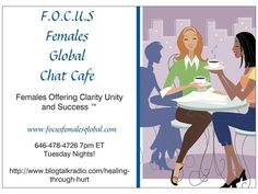 Join my powerful sisters and me for a time to unwind, chat and share advice on this thing called life. Everyone has a story and that story is our power; we need to learn how to use that power in a positive way. Each week a group of powerful women or maybe just one of us will bring you that special cup of positivi-tea (__)? Sit Back and enjoy a cup, have a sip or two of encouragement, motivation and inspiration https://www.facebook.com/groups/Focusfemalesglobal/ Sponsored by The Wall…