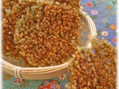 レンジde香ばしいバリバリ煎餅の画像