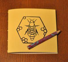 DIY: carnet et petit crayon personnalisé