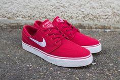 Nike SB Zoom Stefan Janoski CNVS - Varsity Red Via: Tenisufki.eu