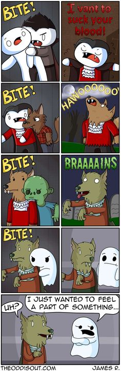 Theodd1sout :: Zombie/Werewolf/Vampire and.... | Tapastic Comics - image 1
