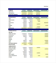Monthly Household Budget Spreadsheet  Excel Monthly Budget