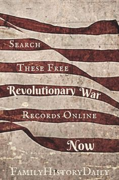 These free genealogy research sites feature Revolutionary War records from pensions to bounty warrants. Learn more about your ancestry and expand your family tree with free genealogy records. Free Genealogy Sites, Genealogy Forms, Genealogy Research, Family Genealogy, Ancestry Websites, Genealogy Humor, Genealogy Chart, All Family, Family Trees