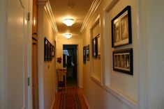 Find and save ideas about White baseboards on Pinterest. | See more ideas about Hall wall decor, White trim and Baseboards.