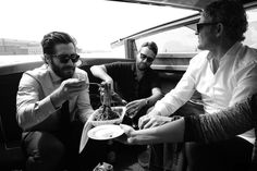 Jake Gyllenhaal, Brent Morley, and Jason Clarke in Venice Johnny Depp And Amber, Greg Williams, Venice Film Festival, The Danish Girl, Photographic Film, Instagram Snap, Jake Gyllenhaal, Hollywood Actor