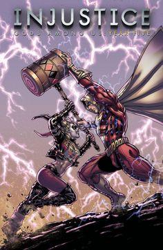 Injustice Gods Among Us: Year Five - David Yardin