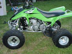 Green Four Wheeler