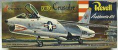 Revell 1/67 F8U-1 Crusader - 'S' Issue - (F8U1), H250-89 plastic model kit
