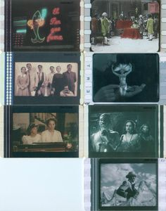 7 Phonecard / Tarjeta Telefonicas Venezuela Cantv  100 Años de Cine