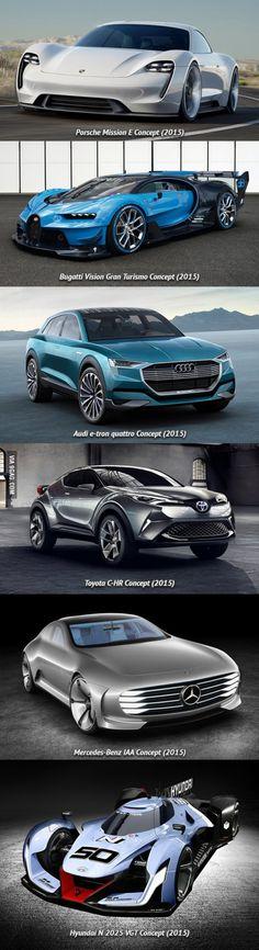Fresh concept cars