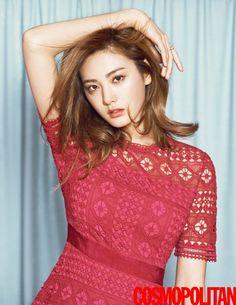 After School's Nana is Spring-Ready in 'Cosmopolitan' Pictorial! | Koogle TV