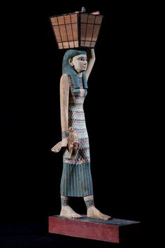 Female Offering Bearer, ca. 1981-1975 BC. Middle Kingdom, Dynasty 12, early…