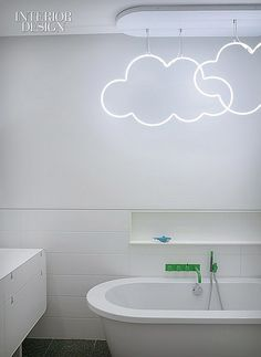 What kid (or adult!) wouldn't love to bathe under the clouds?