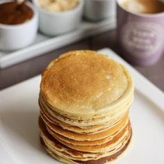 pfannkuchen for kids recipe einfach für kinder von Grund auf und pyjamaparty Breakfast Cake, Breakfast Recipes, Nutella, Plats Weight Watchers, Smart Points, Weigh Watchers, Light Cakes, Ww Desserts, Ww Recipes